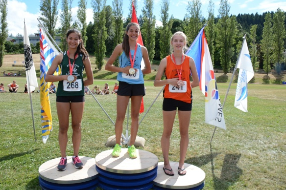 Devin Strome wins Bronze medal for Pentathlon at BC Summer Games.