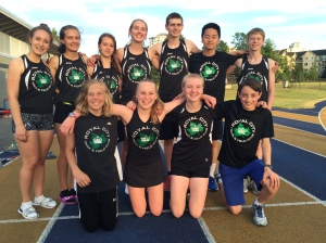 Royal City track athletes who competed at the BC High School Championships