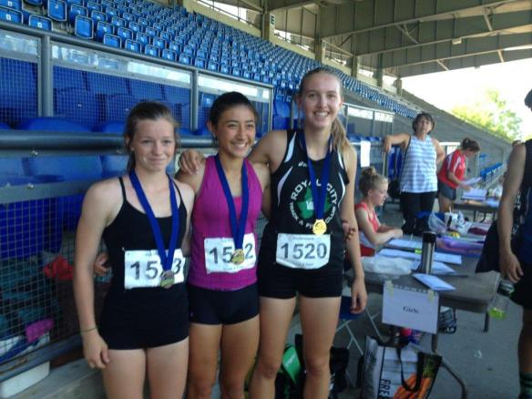 RCTFC athlete Devin Strome wins the Bronze Medal at Provincial Midget Pentathlon Championships