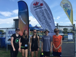 Royal City athletes at Nationals